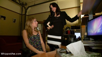 Photo number 1 from Blonde Spy Interrogated by Kink Bitches! shot for Whipped Ass on Kink.com. Featuring Bobbi Starr, Nicki Hunter and Chastity Lynn in hardcore BDSM & Fetish porn.