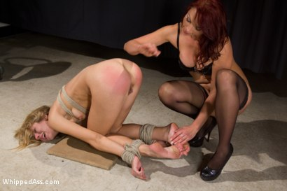 Photo number 12 from Blonde Spy Interrogated by Kink Bitches! shot for Whipped Ass on Kink.com. Featuring Bobbi Starr, Nicki Hunter and Chastity Lynn in hardcore BDSM & Fetish porn.