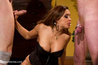 Photo number 12 from Francesca Le's Birthday Cuckold shot for Divine Bitches on Kink.com. Featuring Francesca Le , Christian Wilde and Henry Jacob in hardcore BDSM & Fetish porn.
