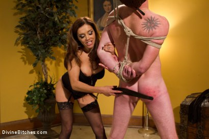 Photo number 2 from Francesca Le's Birthday Cuckold shot for Divine Bitches on Kink.com. Featuring Francesca Le , Christian Wilde and Henry Jacob in hardcore BDSM & Fetish porn.