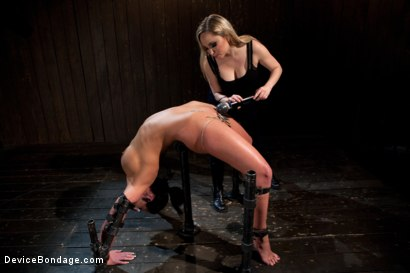 Photo number 12 from From the Vault - Aiden Starr  and Phoenix Marie shot for Device Bondage on Kink.com. Featuring Phoenix Marie in hardcore BDSM & Fetish porn.