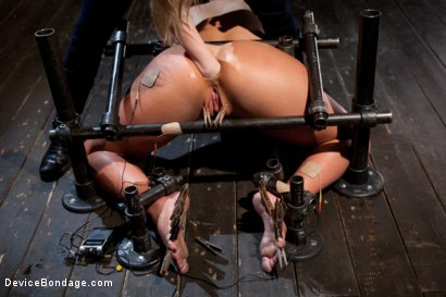 Photo number 4 from From the Vault - Aiden Starr  and Phoenix Marie shot for Device Bondage on Kink.com. Featuring Phoenix Marie in hardcore BDSM & Fetish porn.