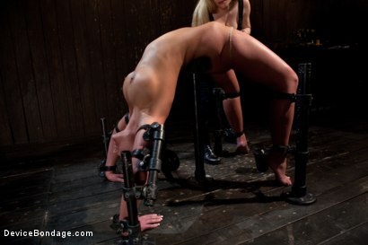 Photo number 16 from From the Vault - Aiden Starr  and Phoenix Marie shot for Device Bondage on Kink.com. Featuring Phoenix Marie in hardcore BDSM & Fetish porn.