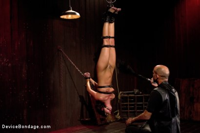 Photo number 5 from Young slut feels the wrath of inescapable devices while enduring extreme torture   shot for Device Bondage on Kink.com. Featuring Aiden Starr, Cassandra Nix and Ian Rath in hardcore BDSM & Fetish porn.