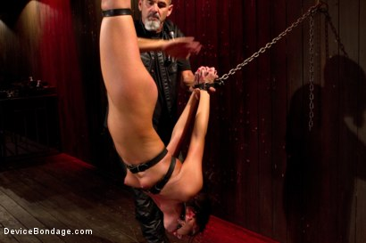 Photo number 6 from Young slut feels the wrath of inescapable devices while enduring extreme torture   shot for Device Bondage on Kink.com. Featuring Aiden Starr, Cassandra Nix and Ian Rath in hardcore BDSM & Fetish porn.