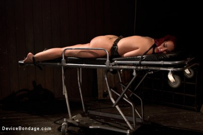 Photo number 12 from <b>Kelly Divine: Stretched, Fucked, Flogged, and Squirting Everywhere; Rosebud Exposed!!</b> shot for Device Bondage on Kink.com. Featuring Kelly Divine and Tom Moore in hardcore BDSM & Fetish porn.