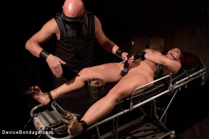 Photo number 11 from <b>Kelly Divine: Stretched, Fucked, Flogged, and Squirting Everywhere; Rosebud Exposed!!</b> shot for Device Bondage on Kink.com. Featuring Kelly Divine and Tom Moore in hardcore BDSM & Fetish porn.