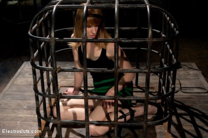 Photo number 1 from Surprising Shocks from a Metal Cage shot for Electro Sluts on Kink.com. Featuring Bobbi Starr and Mallory Mallone in hardcore BDSM & Fetish porn.