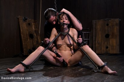 Photo number 13 from Elise Graves - Harsh Treatment and Predicaments Noir Style - by The Pope! shot for Device Bondage on Kink.com. Featuring Elise Graves in hardcore BDSM & Fetish porn.