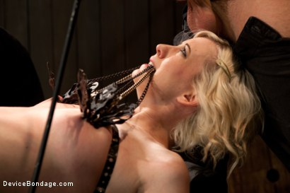 Photo number 3 from Cherry Torn shot for Device Bondage on Kink.com. Featuring Cherry Torn and James Deen in hardcore BDSM & Fetish porn.