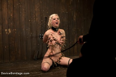 Photo number 12 from Cherry Torn Throat Fucked, Blindfolded, Beaten, and Abused! shot for Device Bondage on Kink.com. Featuring Cherry Torn and James Deen in hardcore BDSM & Fetish porn.