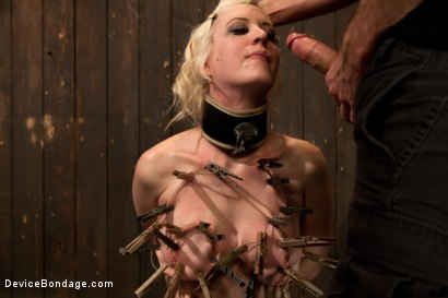 Photo number 7 from Cherry Torn Throat Fucked, Blindfolded, Beaten, and Abused! shot for Device Bondage on Kink.com. Featuring Cherry Torn and James Deen in hardcore BDSM & Fetish porn.