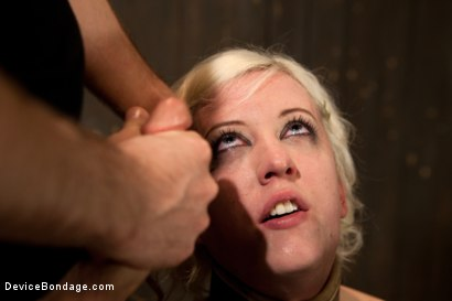 Photo number 10 from Cherry Torn Throat Fucked, Blindfolded, Beaten, and Abused! shot for Device Bondage on Kink.com. Featuring Cherry Torn and James Deen in hardcore BDSM & Fetish porn.