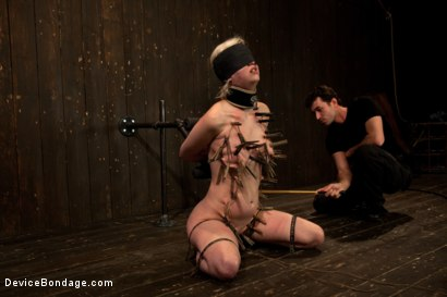 Photo number 14 from Cherry Torn Throat Fucked, Blindfolded, Beaten, and Abused! shot for Device Bondage on Kink.com. Featuring Cherry Torn and James Deen in hardcore BDSM & Fetish porn.