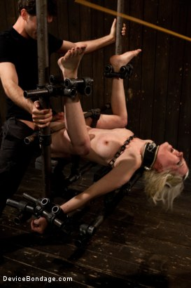 Photo number 9 from Cherry Torn Gets Pushed to Her Limit! shot for Device Bondage on Kink.com. Featuring Cherry Torn and James Deen in hardcore BDSM & Fetish porn.