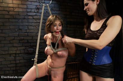 Photo number 13 from Felony, Electro-sex and the Cattle Prod shot for Electro Sluts on Kink.com. Featuring Bobbi Starr and Felony in hardcore BDSM & Fetish porn.
