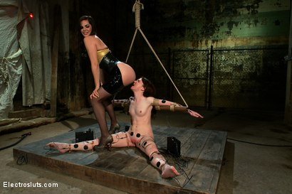 Photo number 9 from AnnaBelle Experiences the Power of Copper shot for Electro Sluts on Kink.com. Featuring AnnaBelle Lee and Bobbi Starr in hardcore BDSM & Fetish porn.