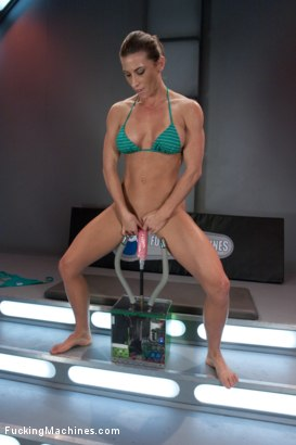 Photo number 10 from TRIPLE PENETRATION MUSCLE BABE: Ariel X Flexing Her Pussy Power shot for Fucking Machines on Kink.com. Featuring Ariel X in hardcore BDSM & Fetish porn.