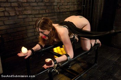 Photo number 5 from Pushing Limits with Hardcore BDSM Sex shot for Sex And Submission on Kink.com. Featuring CiCi Rhodes and Mark Davis in hardcore BDSM & Fetish porn.
