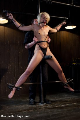 Photo number 2 from Tall blonde slut suffers from nipple torture, sadistic beatings, and extreme squirting orgasms shot for Device Bondage on Kink.com. Featuring Dylan Ryan in hardcore BDSM & Fetish porn.