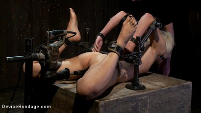 Photo number 9 from Tall blonde slut suffers from nipple torture, sadistic beatings, and extreme squirting orgasms shot for Device Bondage on Kink.com. Featuring Dylan Ryan in hardcore BDSM & Fetish porn.