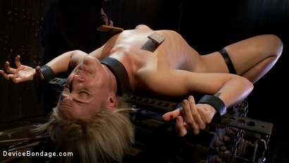 Photo number 13 from Tall blonde slut suffers from nipple torture, sadistic beatings, and extreme squirting orgasms shot for Device Bondage on Kink.com. Featuring Dylan Ryan in hardcore BDSM & Fetish porn.