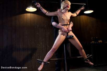 Photo number 4 from Tall blonde slut suffers from nipple torture, sadistic beatings, and extreme squirting orgasms shot for Device Bondage on Kink.com. Featuring Dylan Ryan in hardcore BDSM & Fetish porn.