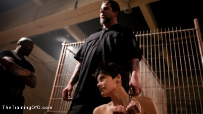 Photo number 6 from Feature Shoot<br>Abandoned Slaves  shot for The Training Of O on Kink.com. Featuring Keira Quinn, Angelica Swiss, Alice Kingsnorth, Jack Hammer and Bonnie Day in hardcore BDSM & Fetish porn.