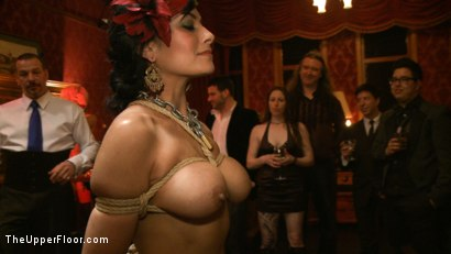 Photo number 17 from Slave Initiation: pistol shot for The Upper Floor on Kink.com. Featuring Krysta Kaos, Dylan Ryan, Beretta James, Maestro Stefanos and The Pope in hardcore BDSM & Fetish porn.