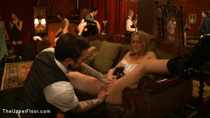 Photo number 5 from Slave Initiation: pistol shot for The Upper Floor on Kink.com. Featuring Krysta Kaos, Dylan Ryan, Beretta James, Maestro Stefanos and The Pope in hardcore BDSM & Fetish porn.