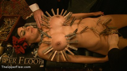 Photo number 10 from Slave Initiation: pistol shot for The Upper Floor on Kink.com. Featuring Krysta Kaos, Dylan Ryan, Beretta James, Maestro Stefanos and The Pope in hardcore BDSM & Fetish porn.