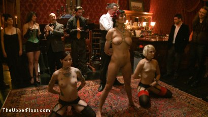 Photo number 16 from Slave Initiation: pistol shot for The Upper Floor on Kink.com. Featuring Krysta Kaos, Dylan Ryan, Beretta James, Maestro Stefanos and The Pope in hardcore BDSM & Fetish porn.