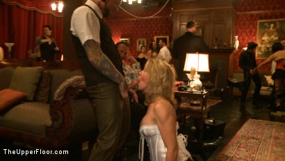 Photo number 6 from Slave Initiation: pistol shot for The Upper Floor on Kink.com. Featuring Krysta Kaos, Dylan Ryan, Beretta James, Maestro Stefanos and The Pope in hardcore BDSM & Fetish porn.