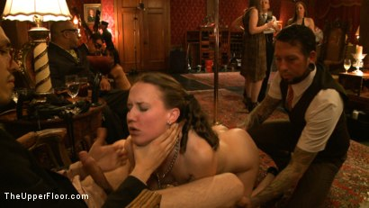 Photo number 8 from Slave Initiation: pistol shot for The Upper Floor on Kink.com. Featuring Krysta Kaos, Dylan Ryan, Beretta James, Maestro Stefanos and The Pope in hardcore BDSM & Fetish porn.
