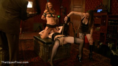 Photo number 17 from House Party: Donna's Squirt Festival! shot for The Upper Floor on Kink.com. Featuring Krysta Kaos, Skin Diamond, Dylan Ryan, Maestro Stefanos, The Pope, Mallory Mallone, Mickey Mod, Tomi Knox and Princess Donna Dolore in hardcore BDSM & Fetish porn.