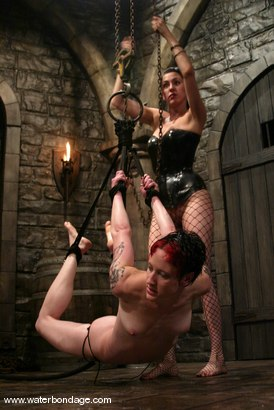 Photo number 13 from Nina and Princess Donna Dolore shot for Water Bondage on Kink.com. Featuring Nina and Princess Donna Dolore in hardcore BDSM & Fetish porn.