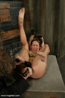 Photo number 13 from Sasha Sparks shot for Hogtied on Kink.com. Featuring Sasha Sparks in hardcore BDSM & Fetish porn.