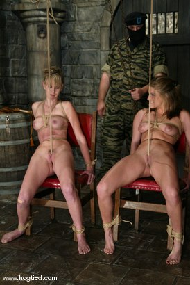 Photo number 7 from Jackie Moore, Sgt. Major and Audrey Leigh shot for Hogtied on Kink.com. Featuring Sgt. Major, Audrey Leigh and Jackie Moore in hardcore BDSM & Fetish porn.