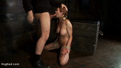Photo number 2 from Warning: Rough sexual violence, catastrophic fucking. Squirting & brutal orgasms, total destruction. shot for Hogtied on Kink.com. Featuring Rain DeGrey in hardcore BDSM & Fetish porn.