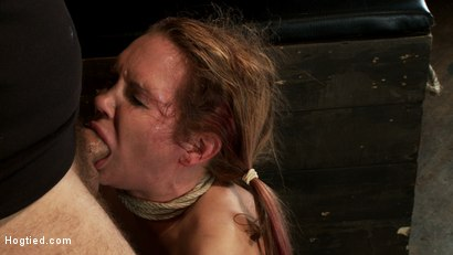 Photo number 11 from Warning: Rough sexual violence, catastrophic fucking. Squirting & brutal orgasms, total destruction. shot for Hogtied on Kink.com. Featuring Rain DeGrey in hardcore BDSM & Fetish porn.