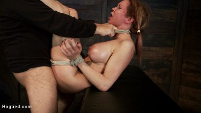 Photo number 13 from Warning: Rough sexual violence, catastrophic fucking. Squirting & brutal orgasms, total destruction. shot for Hogtied on Kink.com. Featuring Rain DeGrey in hardcore BDSM & Fetish porn.