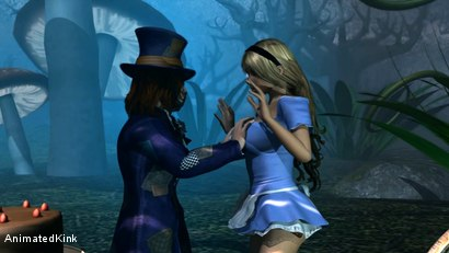 Photo number 5 from Alice in Wonderland: A XXX Parody shot for Animated Kink on Kink.com. Featuring  in hardcore BDSM & Fetish porn.