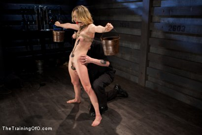 Photo number 12 from Slave Training Lily LaBeau<br>Final Day Live shot for The Training Of O on Kink.com. Featuring Lily LaBeau and The Pope in hardcore BDSM & Fetish porn.