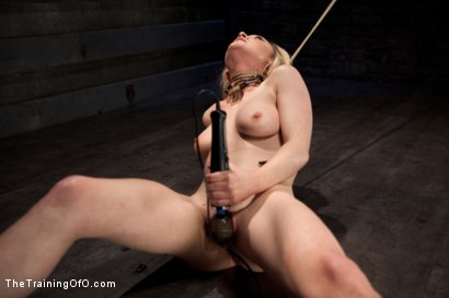 Photo number 4 from Slave Training Lily LaBeau<br>Final Day Live shot for The Training Of O on Kink.com. Featuring Lily LaBeau and The Pope in hardcore BDSM & Fetish porn.