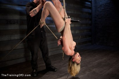 Photo number 7 from Slave Training Lily LaBeau<br>Final Day Live shot for The Training Of O on Kink.com. Featuring Lily LaBeau and The Pope in hardcore BDSM & Fetish porn.