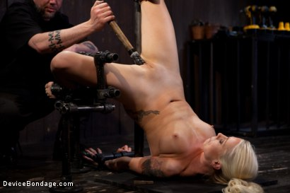 Photo number 11 from Lorelei Lee returns to Device Bondage to test her limits of pain and pleasure! shot for Device Bondage on Kink.com. Featuring Lorelei Lee in hardcore BDSM & Fetish porn.
