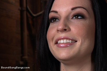 Photo number 15 from Tattooed Hottie is Made to Submit to Five Guys shot for Bound Gang Bangs on Kink.com. Featuring Aria Aspen, Richie Calhoun, James Deen, Michael Bridalveil, Christian Wilde and Mr. Pete in hardcore BDSM & Fetish porn.
