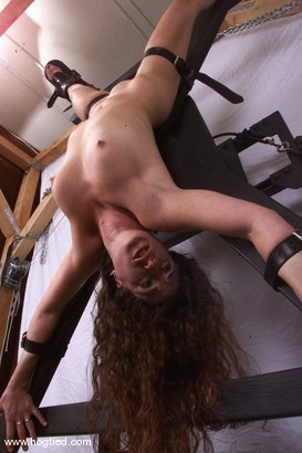 Photo number 7 from Andi shot for Hogtied on Kink.com. Featuring Andi in hardcore BDSM & Fetish porn.