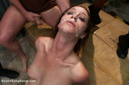 Photo number 11 from Hot Redhead Cici Rhodes Fucked by Hard Cock and Construction Tools shot for Bound Gang Bangs on Kink.com. Featuring CiCi Rhodes, Bobby Bends, Tee Reel, Jack Napier, Ken Stiles, Rico Strong and Mark Davis in hardcore BDSM & Fetish porn.