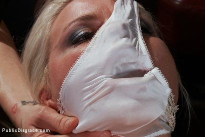 Photo number 7 from Smoking Hot Blonde is Fucked in Public Bar shot for Public Disgrace on Kink.com. Featuring Mr. Pete, Anikka Albrite and Princess Donna Dolore in hardcore BDSM & Fetish porn.